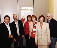 V. l.: Manfred Przybylski (Bereich Schule), Stefan Zimkeit (SPD-Fraktion), Lisa Koal (Mitglied der PG Soziales AsF Oberhausen), Gisela Larisch (AWO Oberhausen), Angelika Jäntsch (stv. AsF-Vorsitzende), Jürgen Flötgen (Kinderpädagogischer Dienst)