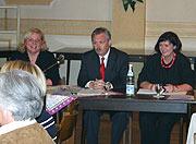 Von links: Astrid Schröder, Klaus Wehling, Liesel Mels