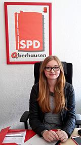 Absolvierte ein interessantes und informatives Praktikum in der SPD-Ratsfraktion: Alexandra Balthaus vom Freiherr-vom-Stein-Gymnasium