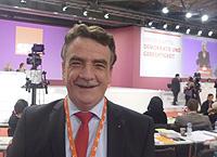 Im ersten Wahlgang wieder in den Parteivorstand gewählt: Der Oberhausener Bundestagsabgeordnete und Generalsekretär der NRWSPD Michael Groschek