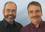 Von der Oberhausener SPD wieder für den Landtag nominiert: Wolfgang Große Brömer und Michael Groschek