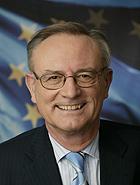 Der ehemalige Präsident des Europäischen Parlaments Klaus Hänsch, Europaabgeordneter seit 1979