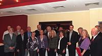 Bürgermeisterin Elia Albrecht-Mainz führte die Ehrung der SPD-Jubilare im Oberhausener Norden durch