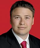 René Pascheberg ist Vorsitzender des Ortsvereins Oberhausen-Ost