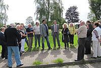 Olaf Rabsilber und Klaus Kösling erläuterten das Projekt