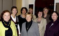 Der Vorstand der Oberhausener AsF mit der langjährigen Bundesvorsitzenden der sozialdemokratischen Frauen Inge Wettig-Danielmeier