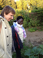Gelungenes Integrationsprojekt: Der Interkulturelle Frauengarten Rose am Kaisergarten