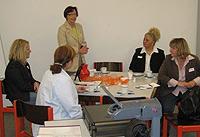 Bereits zum dritten Mal lud die Arbeitsgemeinschaft sozialdemokratischer Frauen zum politischen Info-Frühstück