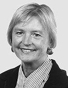 Inge Dratz ist Bezirksvorsteherin des Stadtteils Alt-Oberhausen