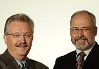 Oberbürgermeister Klaus Wehling und SPD-Fraktionschef Wolfgang Große Brömer