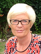 Ute Jordan-Ecker, Vorsitzende der Oberhausener ASF