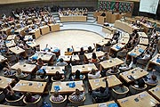 Plenarsitzung des Jugendlandtags