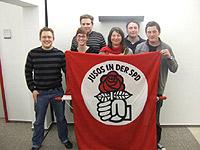 Der neu gewählte Vorstand der Oberhausener Jusos