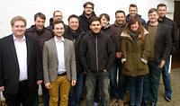 Nachwuchsförderung: Die Teilnehmerinnen und Teilnehmer der Kommunalakademie der Oberhausener SPD