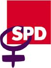 Das Logo der Arbeitsgemeinschaft sozialdemokratischer Frauen ASF