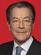 Kommt auch zum SPD-Sommerfest am Sonntag im Kaisergarten: SPD-Parteichef Franz Müntefering
