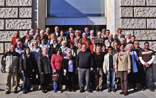 Verbrachten eine interessante und informative Woche in Berlin: Mitglieder des Ortsvereins Oberhausen-Mitte