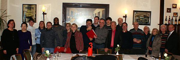 Der neu gewählte Vorstand des Ortsvereins Oberhausen-Mitte