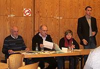 Stefan Scheffler (rechts im Bild) bleibt Vorsitzender des Ortsvereins Sterkrade-Nord
