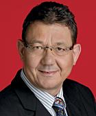 Ulrich Real ist Bezirksbürgermeister von Sterkrade