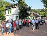 Über 70 Bürgerinnen und Bürger informierten sich beim zweiten Termin der diesjährigen Sommerschule über die Planungen für das Schacht-IV-Gelände
