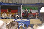 Gut besucht war die Veranstaltung von Mike Groschek und Sönke Rix zur Abschaffung von Wehr- und Zivildienst