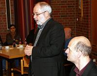 Wolfgang Große Brömer und Stefan Zimkeit informierten über das Thema Inklusion