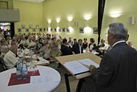 Mächtiger Andrang bei der SPD-Veranstaltung zu alternativen Wohnformen für ältere Menschen im Bürgerzentrum